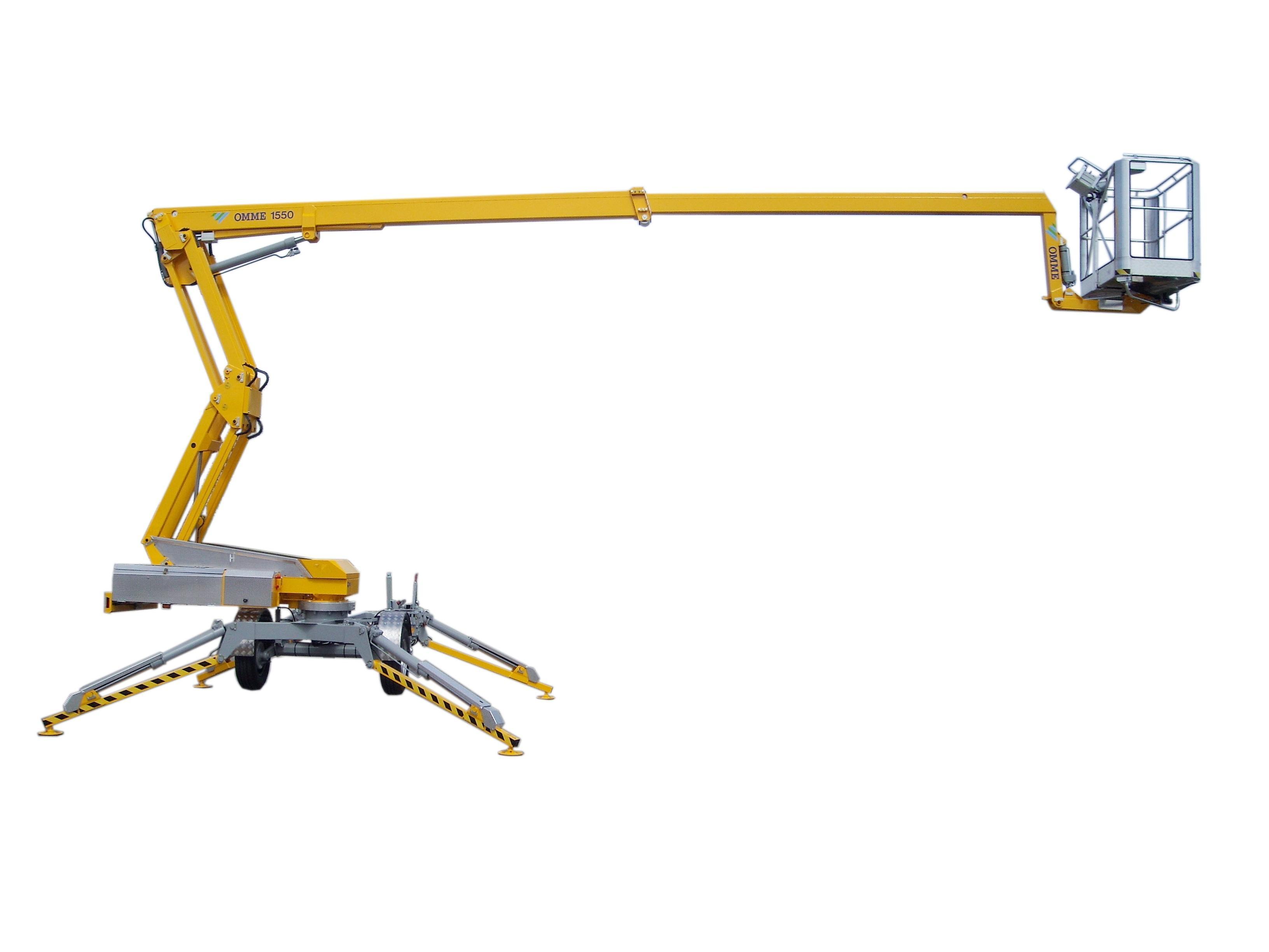Skylift 15,5m Omme 1550 Batteri, Sax Självgående